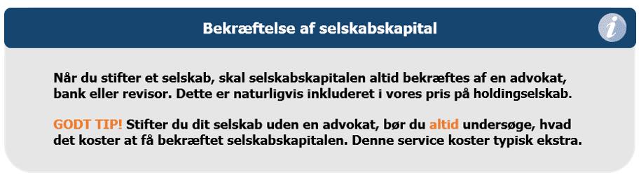 holdingselskaber i danmark