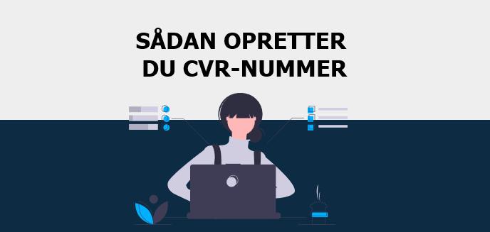 Opret CVR nummer
